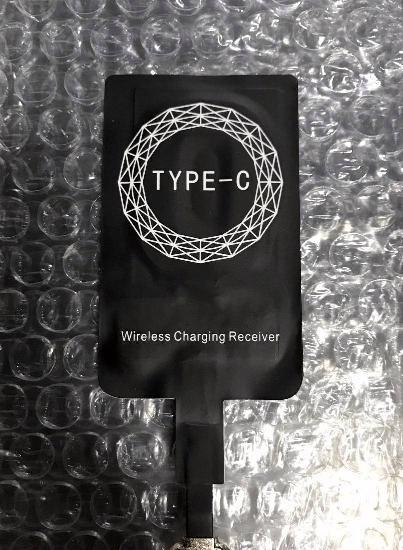 Adaptador para carregamento wireless type-c