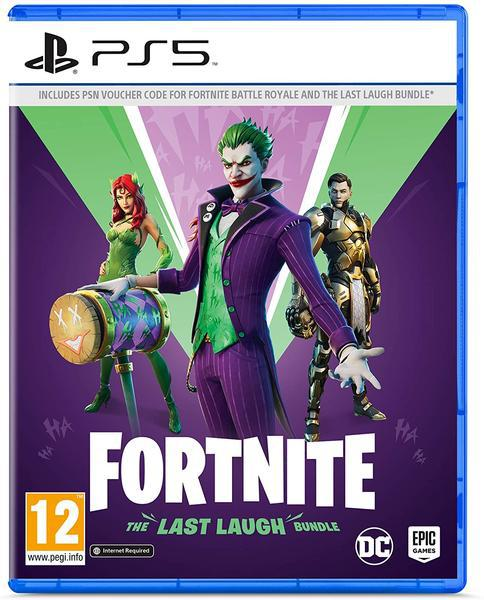 Jogo ps5 fortnite: the last laugh bundle