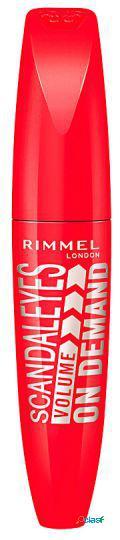 Rimmel london scandaleyes volume on demand máscara brown