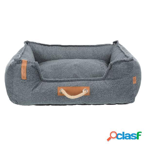 Trixie cama para cães be nordic föhr soft 60x50 cm cinzento