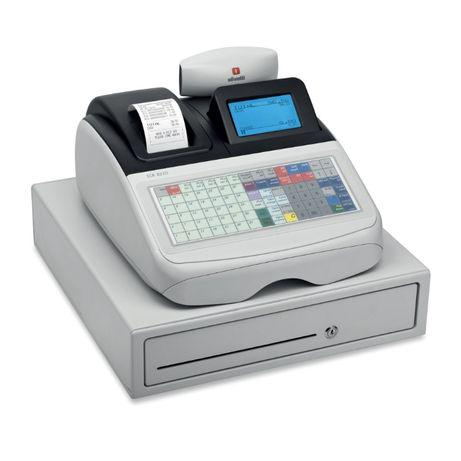 Máquina registadora olivetti ecr 8220 s