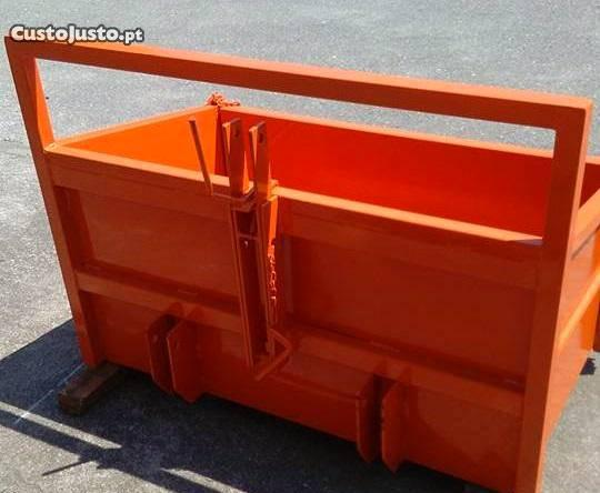 Caixa de carga ager reforçada para trator