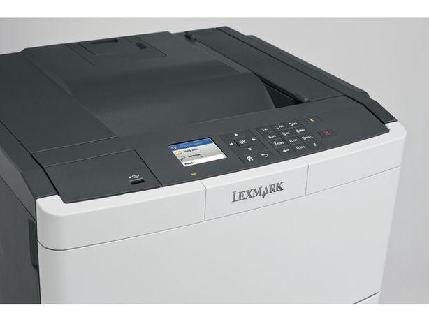 "Impressora lexmark cs417 nova laser cores ""nova"" caixa"
