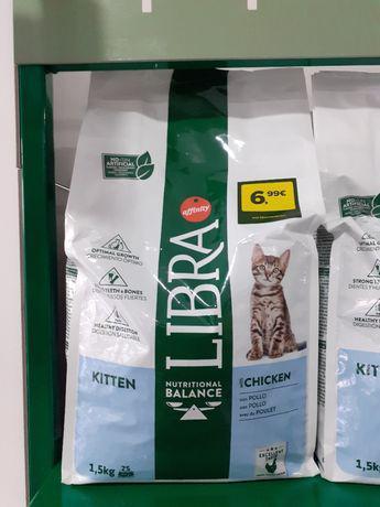 Libra de gato 1,5kg