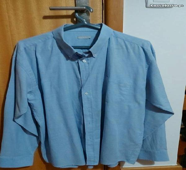 Camisa azul bebé xl