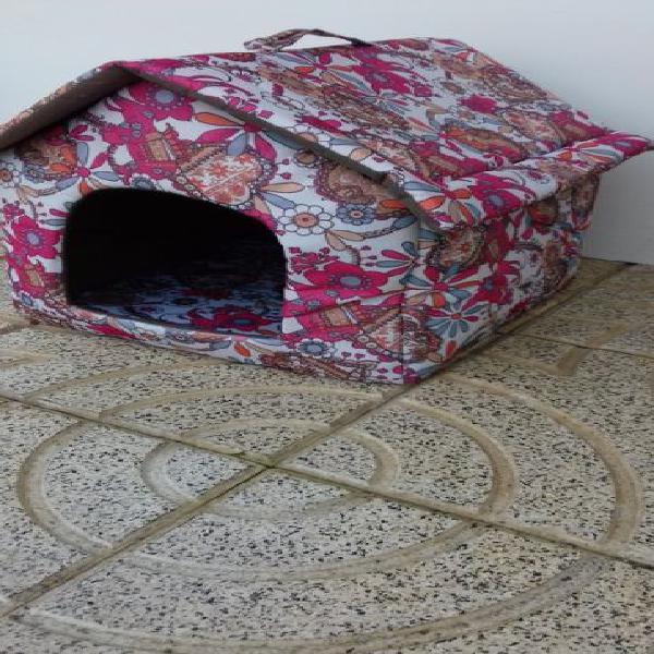 Casinha cama p/ animais porte pequeno