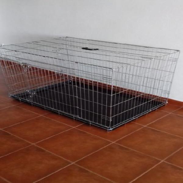 Jaula de transporte pet residence com almofada
