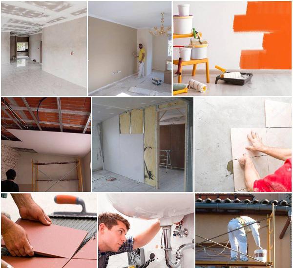 Remodelações e restauração apartamentos moradias