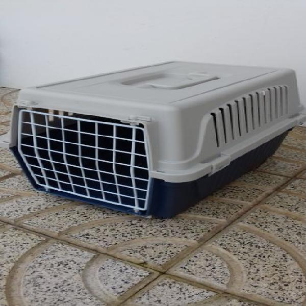 Transportadora ferplast atlas 10, p/ gatos ou cães de raça