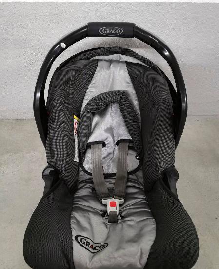 Cadeira auto/ovo graco grupo 0 (nova)
