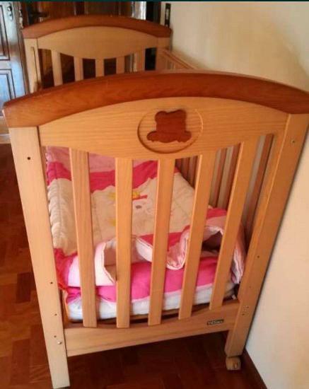 Cama de bebê em muito bom estado