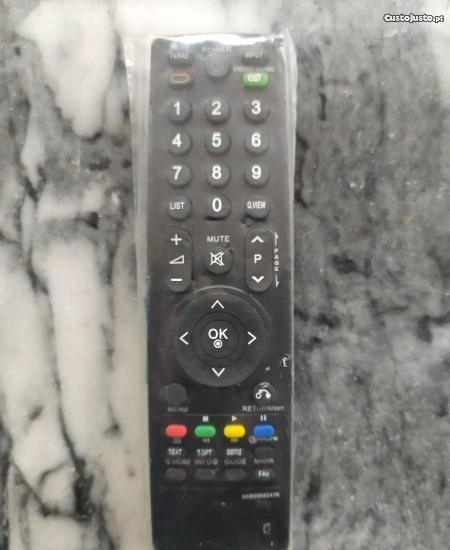 Comando compatível lg akb69680438 tv