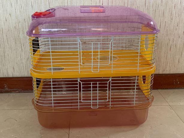Gaiola de hamsters dois andares