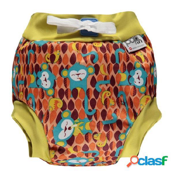 Close parent monkey calções de banho tamanho l