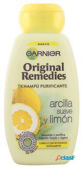 Original remedies shampoo original argila e limão 250ml 250 ml
