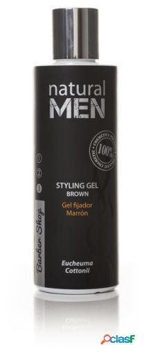 Natural men bs styling gel castanho 200 ml