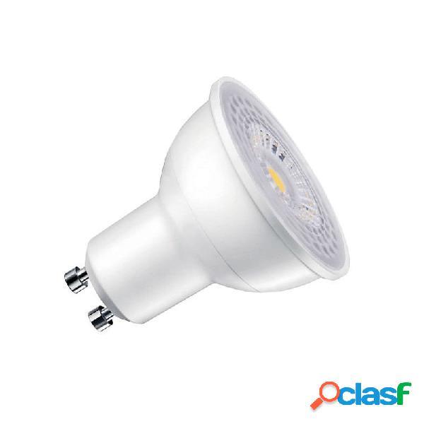 Lâmpada dicroica led gu10 smd samsung 60º 7w regulável branco neutro. loja online ledbox. lâmpadas led > lâmpadas led gu10