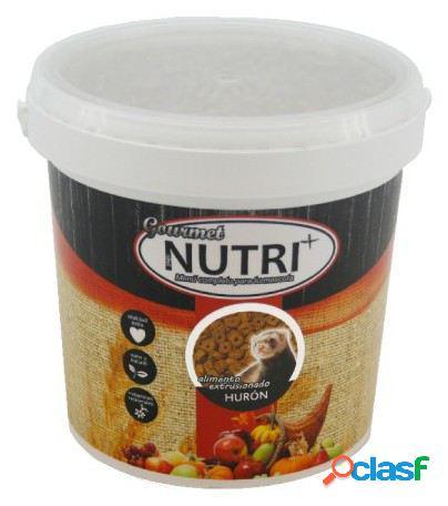 Extrudado food cube nutriplus 2'400kg huron. aprox. (5'5lt) 2.4 kg