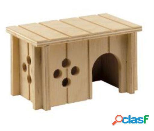 Toca para pequenos animais feita de madeira. diferentes tamanhos.