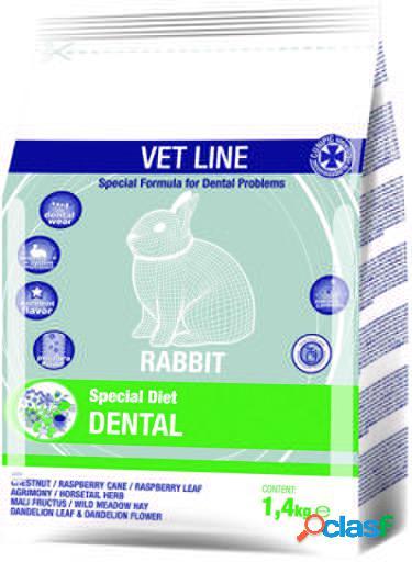 Vet line dental rabbits 1.4 kg cunipic