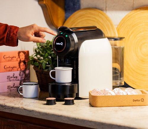 Máquina café delta q qool evolution branca *oferta 30