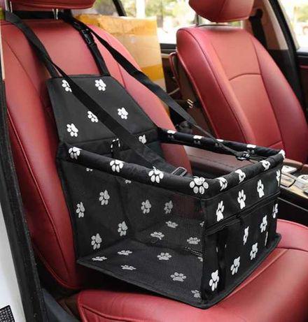 Bolsa de transporte de cão em viagem