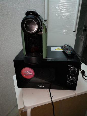 Maquina café delta pouquissimo uso