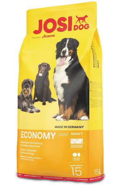 Ração economy p/ cão adulto (15kg) - josi dog
