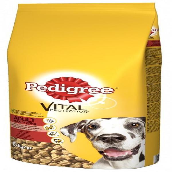 Ração vital adulto p/ cães raça grande (15kg) - pedigree