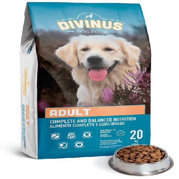Ração p/ cão adulto (20kg) - divinus