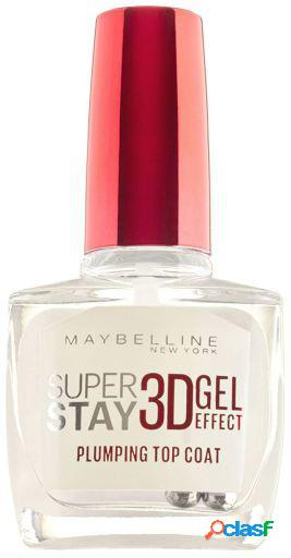 Maybelline superstay nail 3d gel com efeito plumping top coat 10 ml