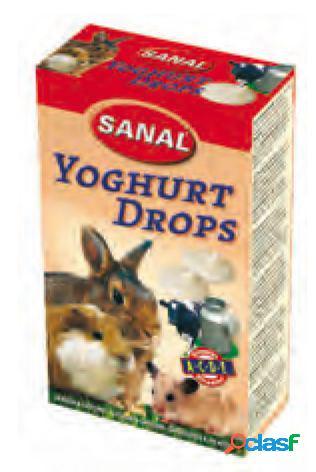 Snacks roedores drops yogurt sanal