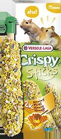 Hamsters-gerbils honey sticks 2 pieces 110 gr versele laga