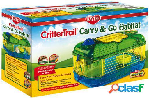 Jaula crittertrail carry & go 868 gr kaytee