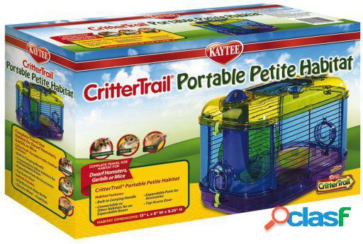 Jaula crittertrail portable 868 gr kaytee