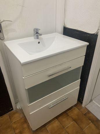 Movel wc + lavatorio + torneira