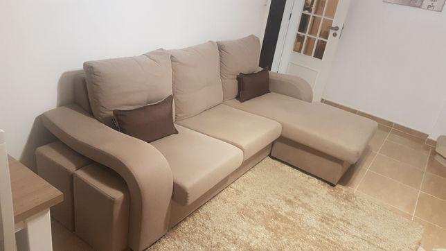 Sofá chaise longue como novo
