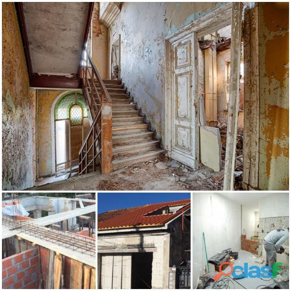 Remodelações gerais/ pladur /capoto / pinturas /restauros /