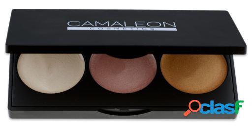 Camaleon iluminador paleta de 3 cores 2,5 gr