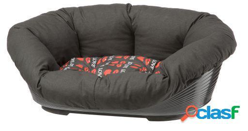 Alcofa sofá cinza 6 ferplast