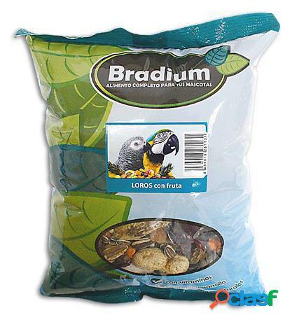 Bradium papagaios com frutas aproximadamente 720 gr. 720 gr bradium