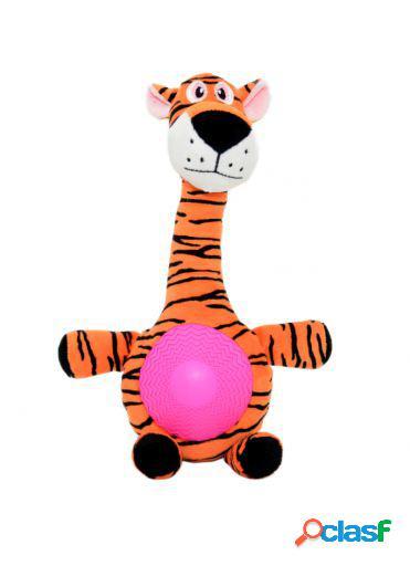 Plush dog toy with sound tiger 27 x 16 cm duvo+