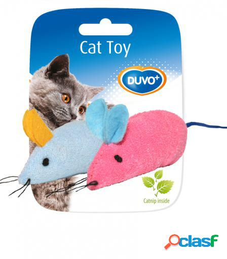 Toy cat assortment mice 2 unidades 6 x 5 x 3 cm duvo+