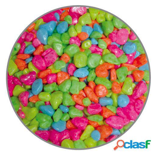 Cascalho premium neon mult 7mm 5 kg 5 kg ica