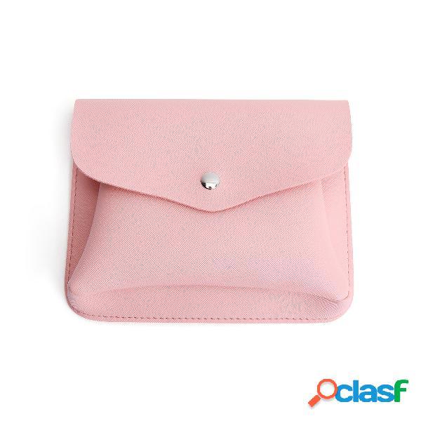 Saco crossbody plain soft plain rosa