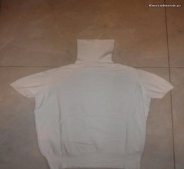Camisola de senhora branca zaraknit