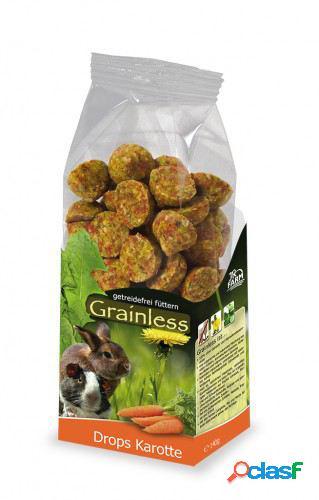 Jr grainless drops cenoura 140 gr jr farm
