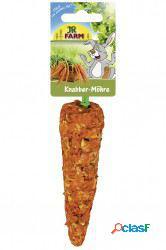 Jr snacks roedores cenoura 60 gr jr farm