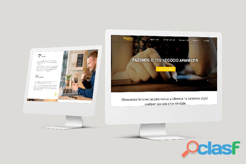 Criação de Sites | Lojas Online | Páginas de Vendas | Iscas Digitais