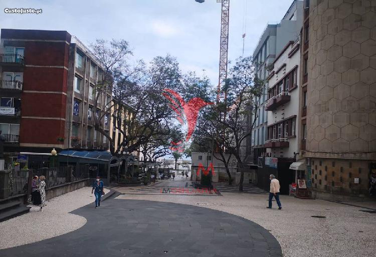 Apartamento t1 + 1 centro do funchal